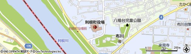 茨城県利根町(北相馬郡)周辺の地図