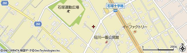 イシズ理容店周辺の地図