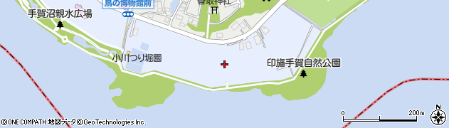 千葉県我孫子市高野山新田周辺の地図