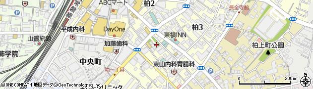 柏神社周辺の地図