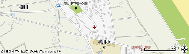 茨城県神栖市柳川中央周辺の地図