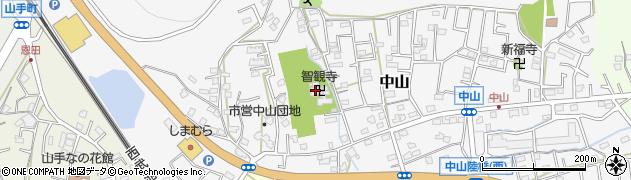 智観寺周辺の地図