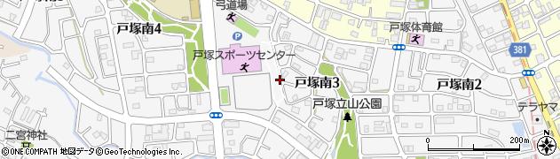 埼玉県川口市戸塚南周辺の地図