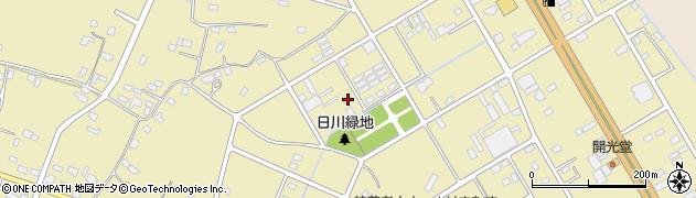 茨城県神栖市日川周辺の地図