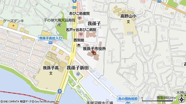 〒270-1100 千葉県我孫子市(以下に掲載がない場合)の地図