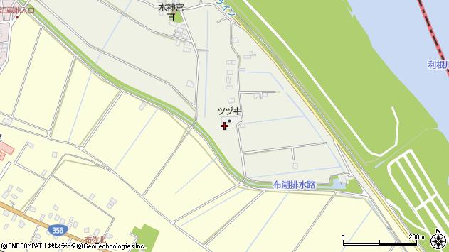 〒270-1113 千葉県我孫子市江蔵地の地図