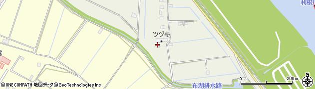 千葉県我孫子市江蔵地周辺の地図