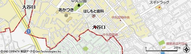 埼玉県さいたま市緑区大谷口周辺の地図