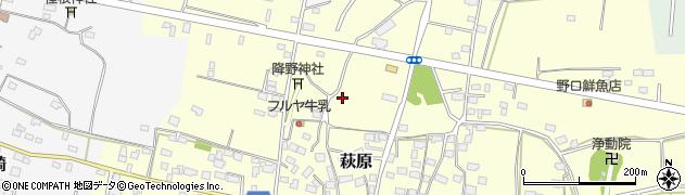 茨城県神栖市萩原周辺の地図
