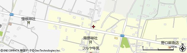 金城接骨院周辺の地図