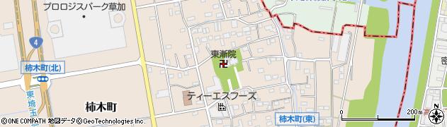 東漸院周辺の地図