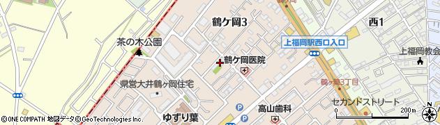 暁松院周辺の地図