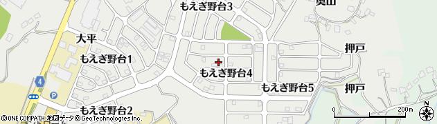茨城県利根町(北相馬郡)もえぎ野台周辺の地図