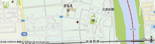 埼玉県越谷市東町周辺の地図