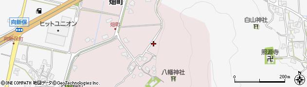 福井県越前市畑町周辺の地図