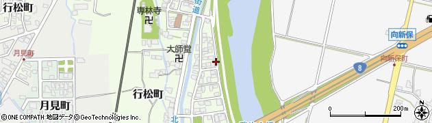 福井県越前市行松町周辺の地図