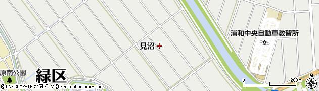 埼玉県さいたま市緑区見沼周辺の地図