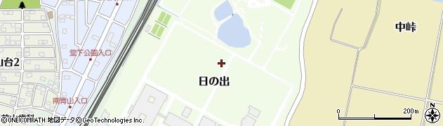 千葉県我孫子市日の出周辺の地図