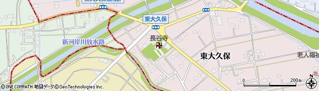 長谷寺周辺の地図