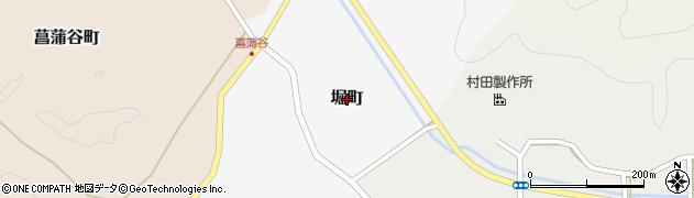 福井県越前市堀町周辺の地図