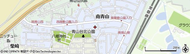 千葉県我孫子市南青山周辺の地図