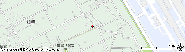 弥恵工事周辺の地図