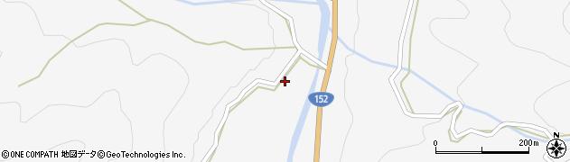 長野県伊那市高遠町長藤(中条)周辺の地図