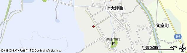 福井県越前市上大坪町周辺の地図