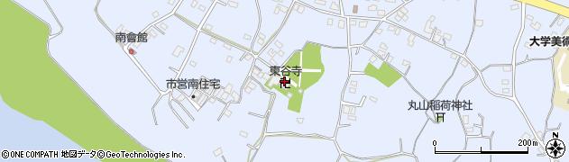 東谷寺周辺の地図