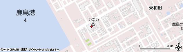 丸全昭和運輸株式会社 鹿島支店カネカ東部出張所周辺の地図