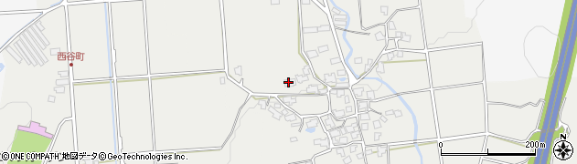 福井県越前市平林町周辺の地図