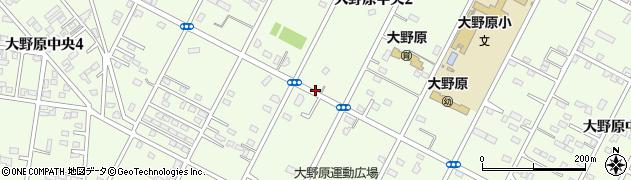 茨城県神栖市大野原中央周辺の地図