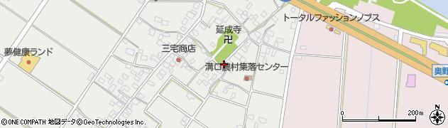 茨城県神栖市溝口周辺の地図