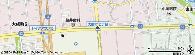 大成町7周辺の地図