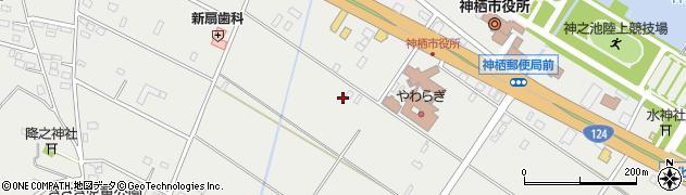 ワンズ周辺の地図