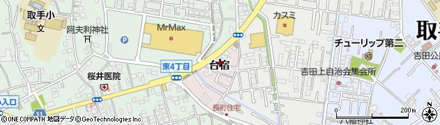 えびはら洋品店周辺の地図
