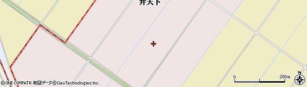 千葉県我孫子市弁天下周辺の地図