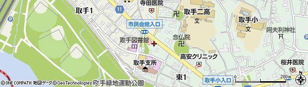 竹村酒店周辺の地図