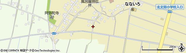 茨城県龍ケ崎市長沖町周辺の地図