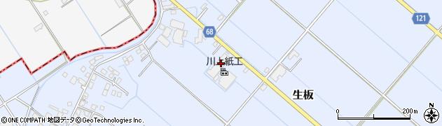 川上紙工株式会社 河内工場周辺の地図