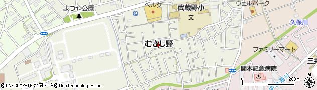 埼玉県川越市むさし野周辺の地図
