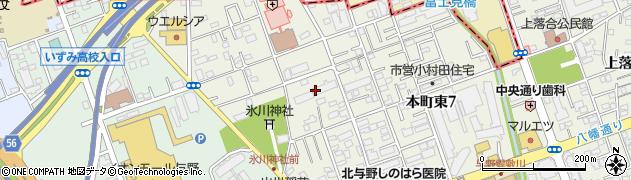 与野リリエンハイム周辺の地図