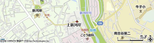 埼玉県川越市上新河岸周辺の地図