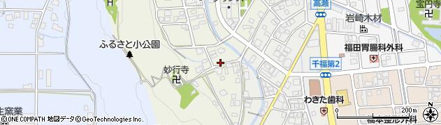 福井県越前市沢町周辺の地図