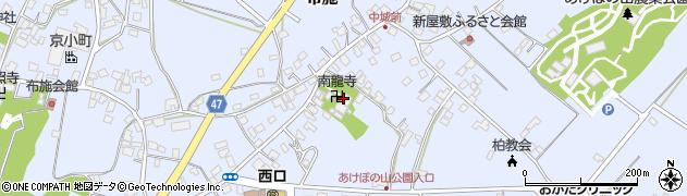 南龍寺周辺の地図