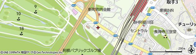 三ツ和自動車修理工場周辺の地図
