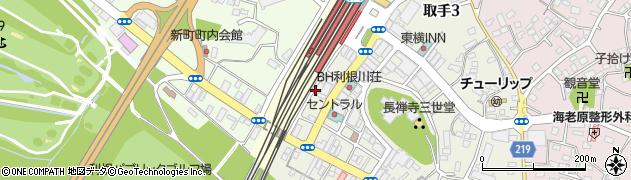 麻雀東周辺の地図