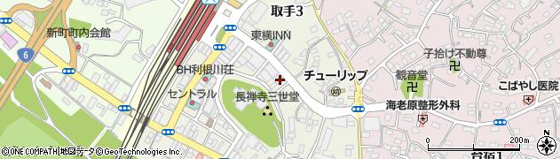一竿堂釣具店周辺の地図