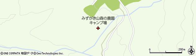 みずがき山森の農園キャンプ場周辺の地図
