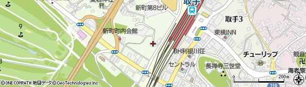 結城醤油株式会社周辺の地図